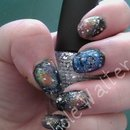 My Attempt At Galaxy Nails