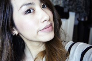 Natural everyday make up with NYX Lip Cream.  More swatches and review on my blog here: http://kakabeautyblog.com/2013/03/27/nyx-soft-matte-lip-cream-review-swatches/#