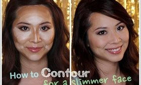 How to Contour for a Slimmer Face