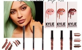 Kylie jenner lip kit review , 500 usd WTH? plus a giveaway ! Giveaway closed