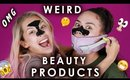 Testing Weird Beauty Products w/ Nicol Concilio | Maryam Maquillage