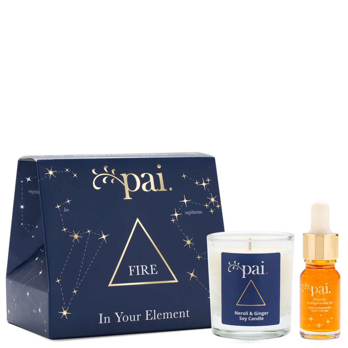 Pai Skincare In Your Element Gift Set Fire product smear.