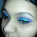Sick of You Blue, Green and Purple Eye look