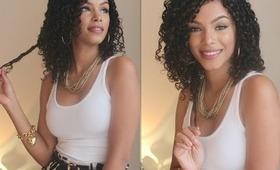 Curly Hair Routine ♥ Natural Hair ♥ Wash & Go