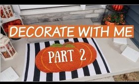 DECORATE FOR FALL WITH ME. PART 2