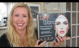 LIFT WAND HIGH FREQUENCY SKIN DEVICE REVIEW & DEMO | BEAUTY OVER 40