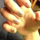 glitter nails?