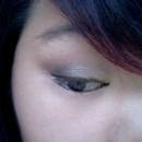 first attempt of a smoky eye:)