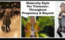 Maternity Style & How to Dress Per Trimester