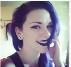 Lime Crime Velvetines Black velvet- just goofing off :p love a jet black lip though!