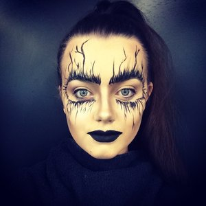 Dark, unique, edgy look.