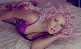 Christina Aguilera Your Body video inspired make-up tutorial