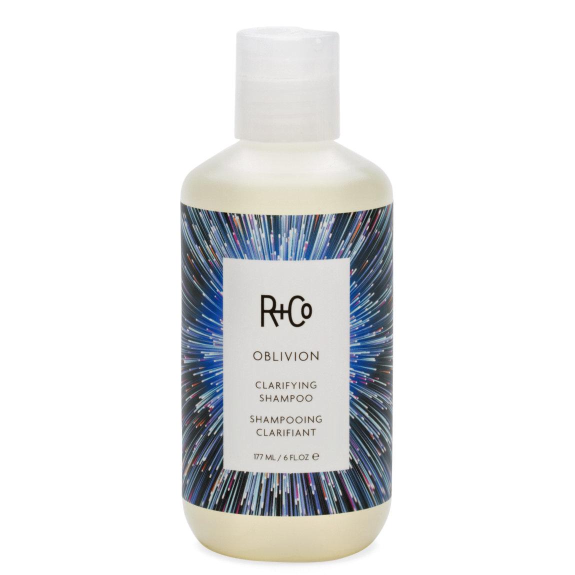 R+Co Oblivion Clarifying Shampoo product swatch.