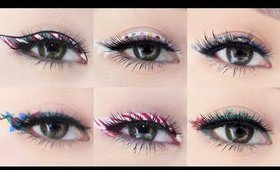 Holiday Eyeliner Makeup Tutorial 2017 | 7 Different Eyeliner Looks