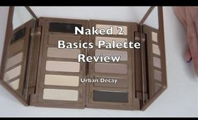 Urban Decay Naked Basics 2 Review and Swatches