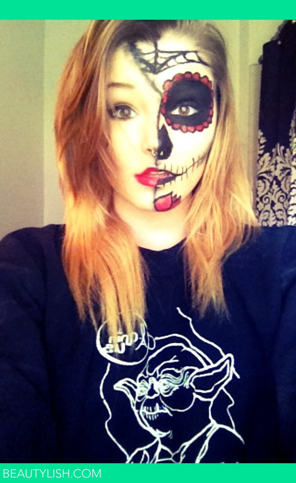 Sugar Skull Halloween Makeup : Ashlynn D.u0026#39;s Photo : Beautylish