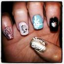 Santa baby nails