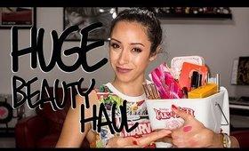 HUGE Beauty Haul! Sephora VIB Sale, Ulta, Colourpop, Kylie Lippies, Etc.