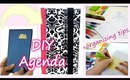 DIY customizable agenda + easy organizing tips!