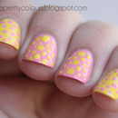 Pink & Yellow Dots