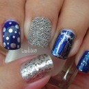Eclectic Blue Mix and Match