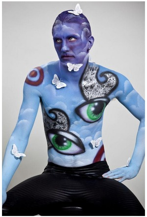 My first body painting