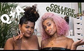 Answering Your College Questions (Q+A) With Leah Allyannah | We're Very Wise So Listen Up