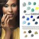 """Green"" IBD Beauty 2013 Campaign"