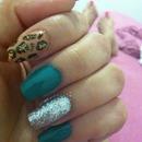 Leopard loves Emerald