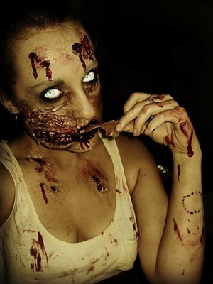 A not do pretty zombie look