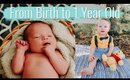 Our Son's First Year of Life (in 13 minutes)