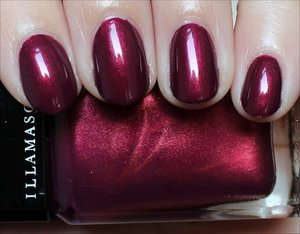 See more swatches & my review here: http://www.swatchandlearn.com/illamasqua-charisma-swatches-review/