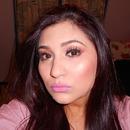 Smokey Eye and pink Lips