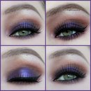 Purple/brown smokey