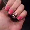 Leopard Party Nail