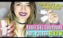 No UV Light Essie Gel Couture Nail Polish Review, Essie gel nail polish DOES IT LAST 2 WEEKS?