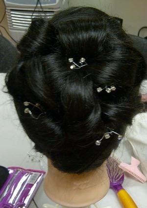 Bride or bridesmaid