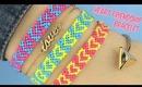 DIY Heart Friendship Bracelets, Easy Step by Step
