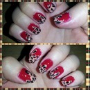 Dripping in leopard