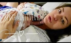 Live Labor And Delivery Vlog/First Baby
