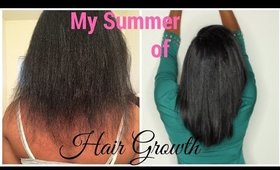 2 Months Hair Growth with Haute Kinky Hair Vitamins