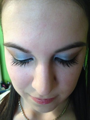 My friend was going to the military ball, honored to have done her makeup