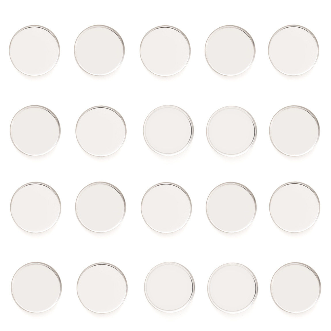 Z•Palette Empty Metal Pans 20 Pack - Round product swatch.