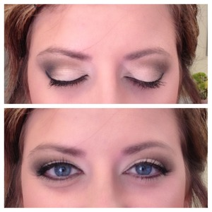 Did a bridesmaids makeup using the elf palette! Turned out beautiful!