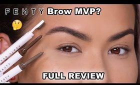 NEW FENTY BEAUTY BROW MVP FULL REVIEW | Maryam Maquillage