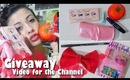 ♡ First Beauty GIVEAWAY of the Channel ♡