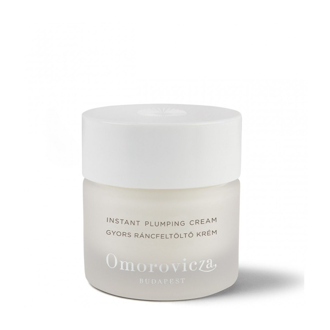 Omorovicza Instant Plumping Cream product smear.