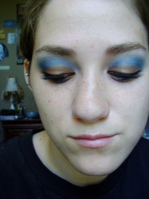 ravenclaw inspired eyeshadow tutorial harry potter house series