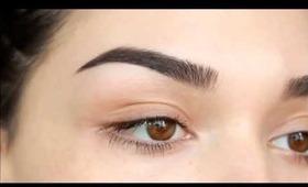 My eyebrow routine
