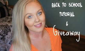 Back To School Drugstore Makeup Tutorial & GIVEAWAY